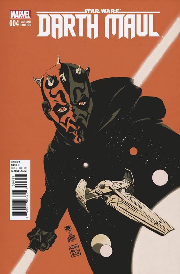 Star Wars Darth Maul 4 (Marvel) - Francesco Francavilla Variant