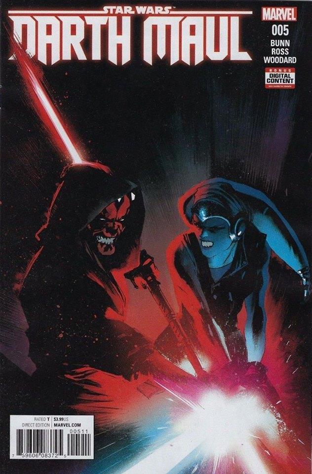 Star Wars Darth Maul 5 (Marvel) - First Printing