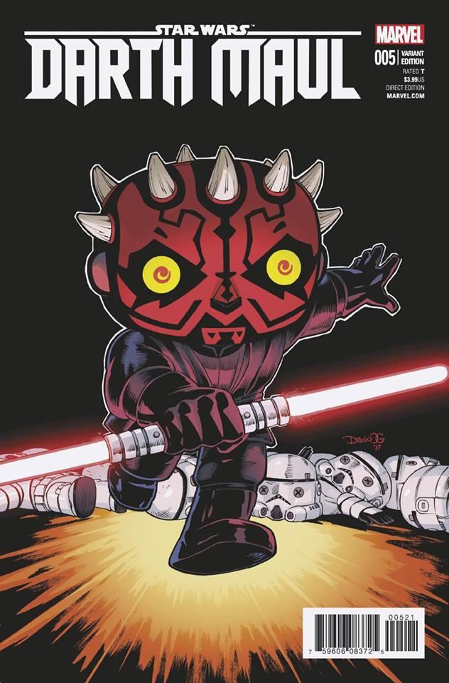 Star Wars Darth Maul 5 (Marvel) - Diego Olortegui Variant