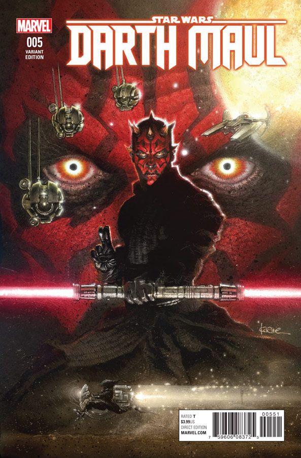 Star Wars Darth Maul 5 (Marvel) - Kaare Andrews Variant