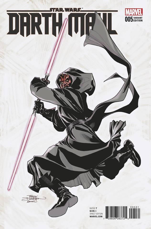 Star Wars Darth Maul 5 (Marvel) - Dodson Variant