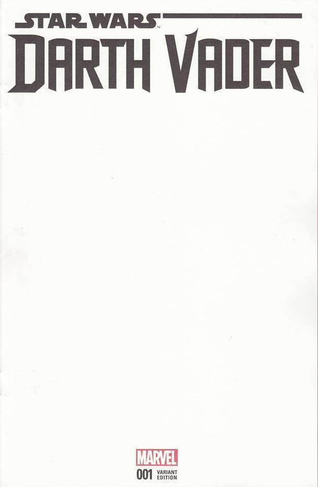 Star Wars Darth Vader (II) 1 - Blank Variant