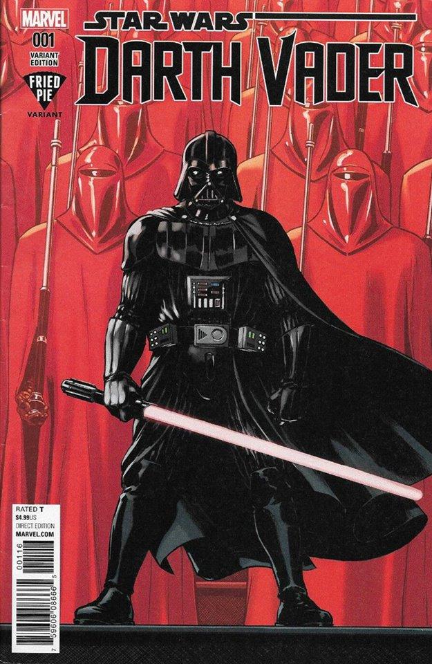 Star Wars Darth Vader (II) 1 - Fried Pie Variant (David Lopez)