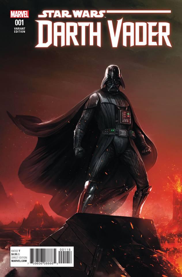 Star Wars Darth Vader (II) 1 - Francesco Mattina Variant