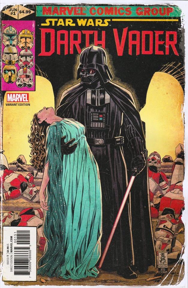 Star Wars Darth Vader (II) 1 - Marvel Homage Variant (Mark Brooks)