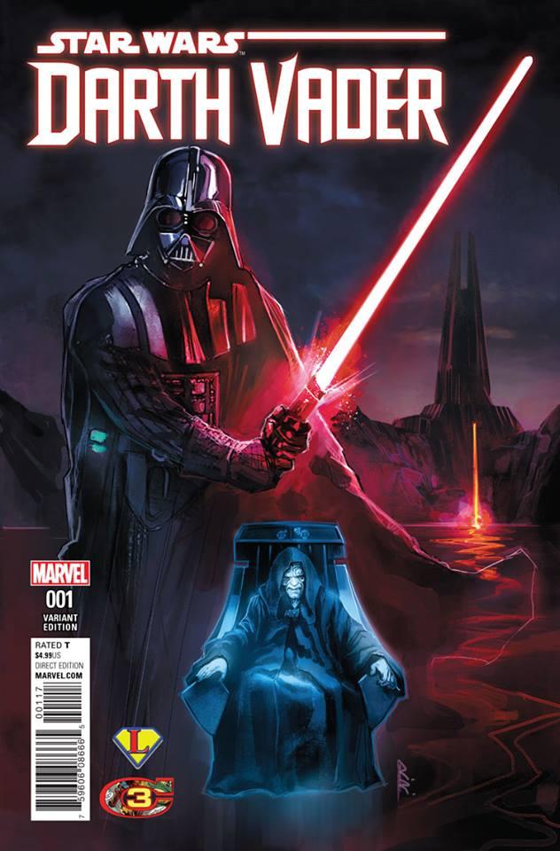 Star Wars Darth Vader (II) 1 - Legends Variant (Rod Reis)
