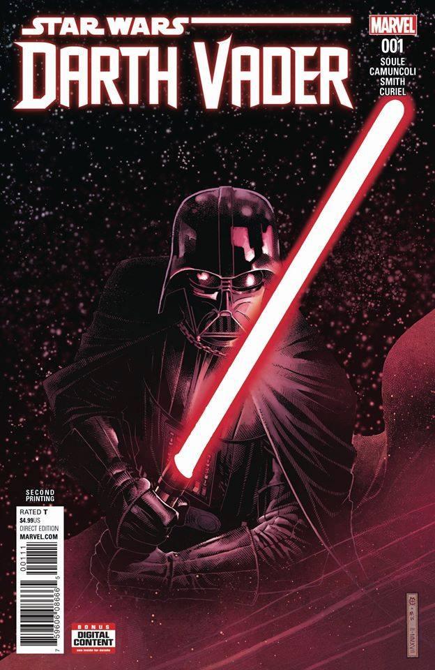 Star Wars Darth Vader (II) 1 - Second Printing