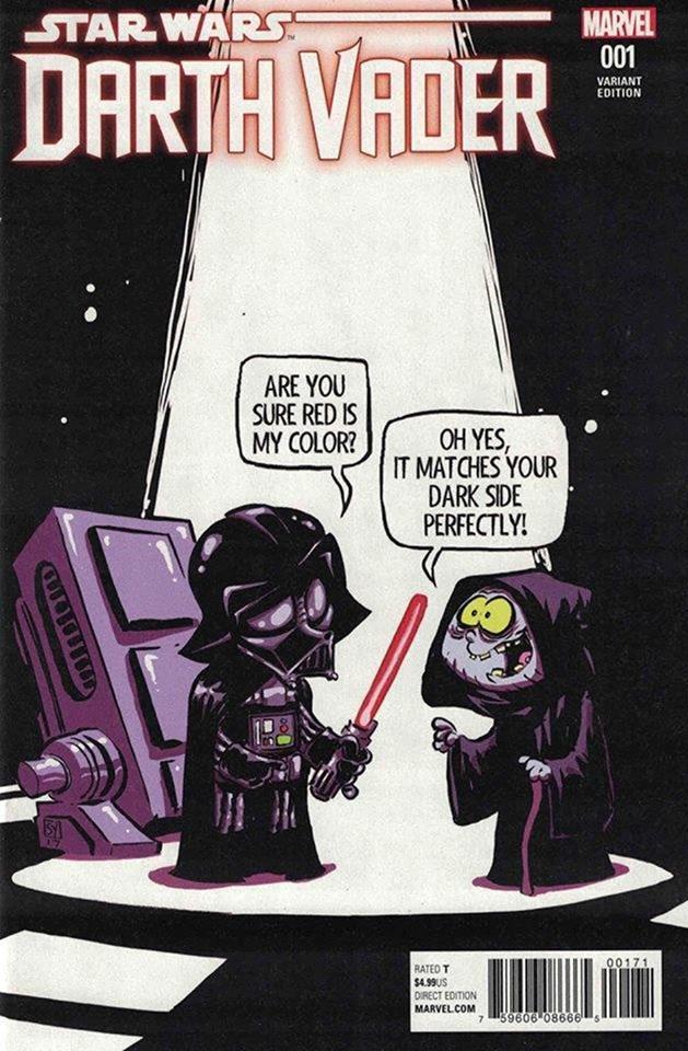 Star Wars Darth Vader (II) 1 - Skottie Young Variant
