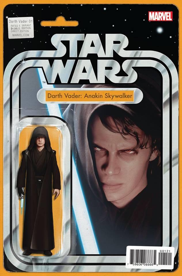 Star Wars Darth Vader (II) 1 - Action Figure Variant: Darth Vader (Anakin Skywalker)