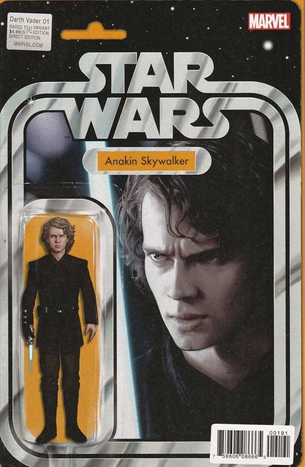 Star Wars Darth Vader (II) 1 - Action Figure Variant - Anakin Skywalker
