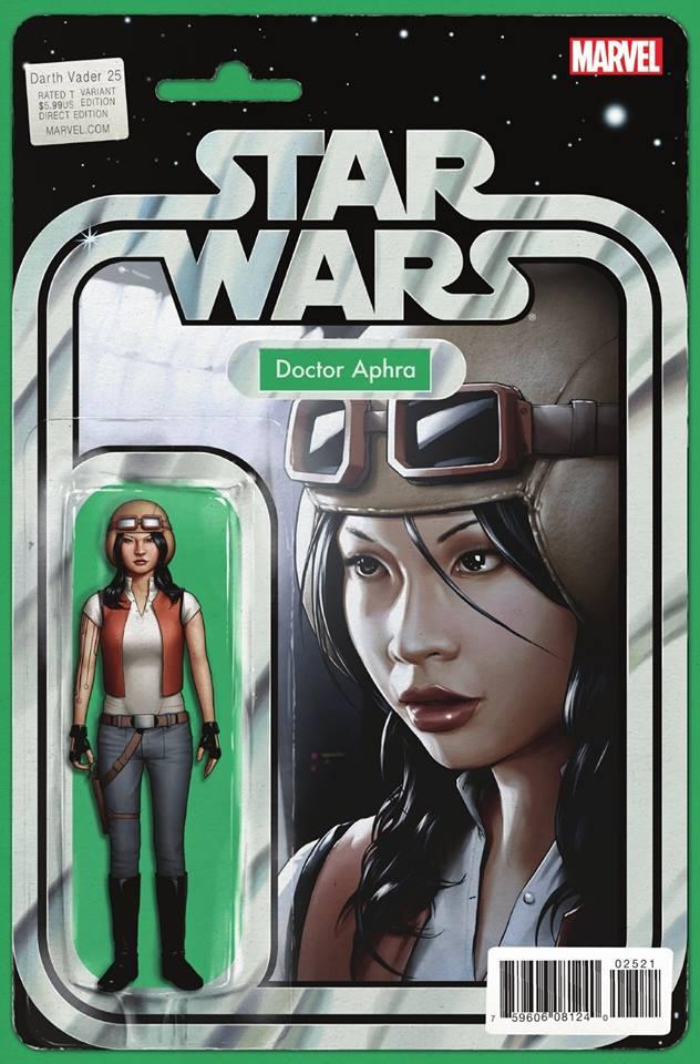 Star Wars Darth Vader 25 - Action Figure Variant - Doctor Aphra