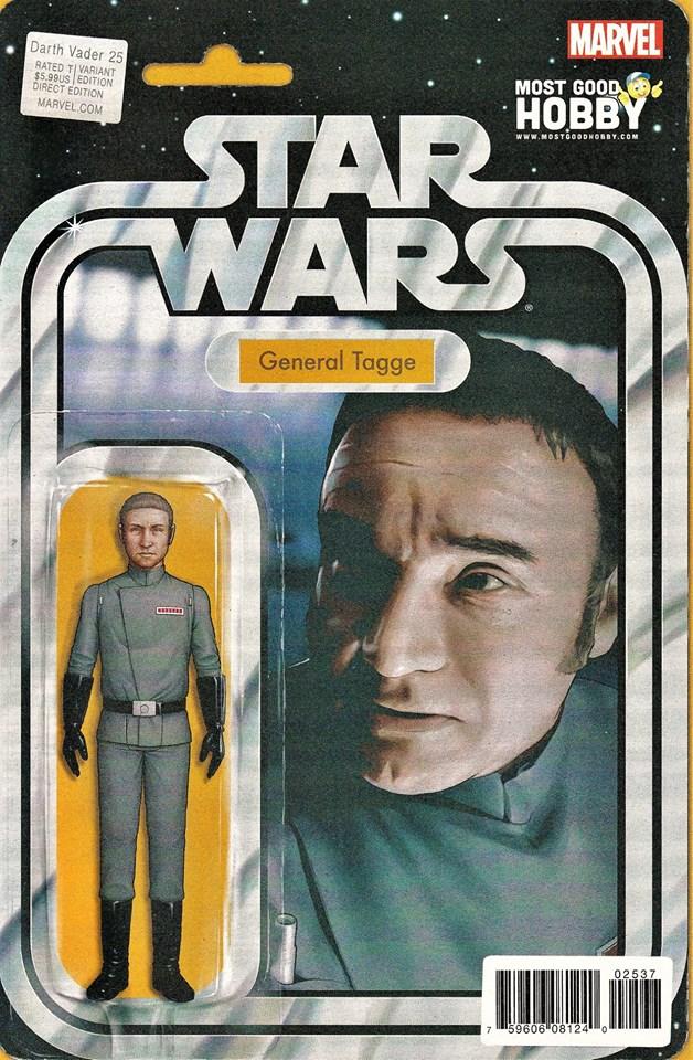 Star Wars Darth Vader 25 - Action Figure Variant - General Tagge