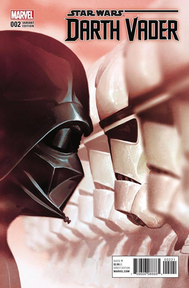 Star Wars Darth Vader (II) 2 - Mike Del Mundo Variant