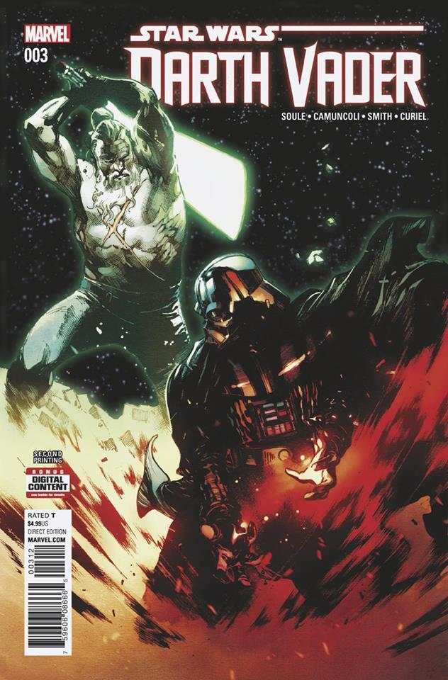 Star Wars Darth Vader (II) 3 - Second Printing