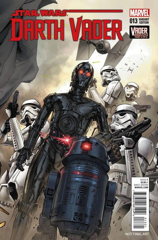 Star Wars Darth Vader 13 - Droids Variant