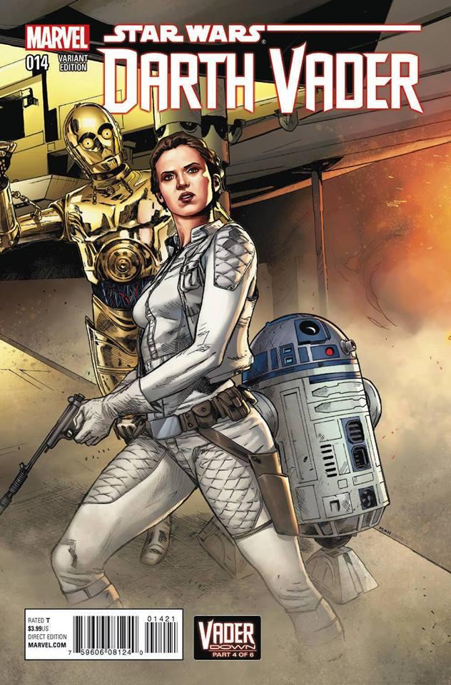 Star Wars Darth Vader 14 - Leia Variant