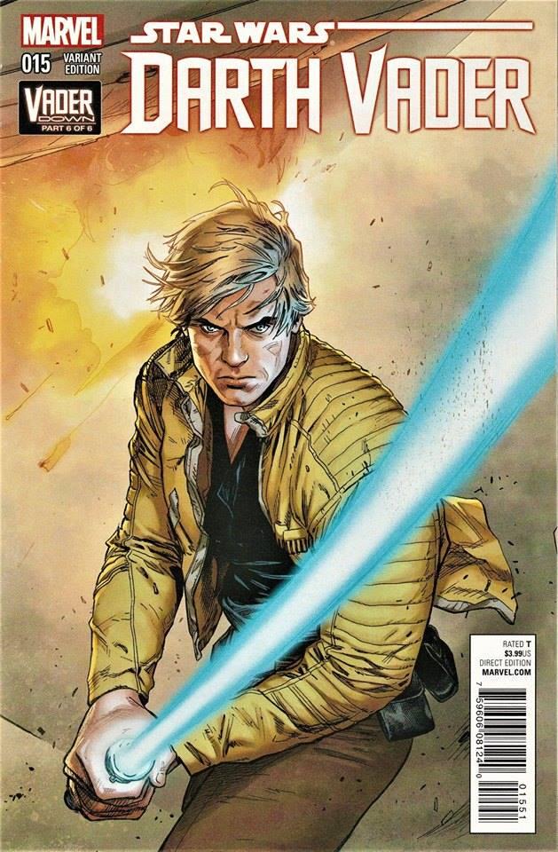 Star Wars Darth Vader 15 - Luke Variant