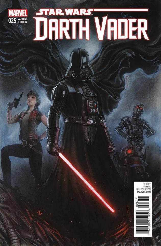 Star Wars Darth Vader 25 - Adi Granov Variant