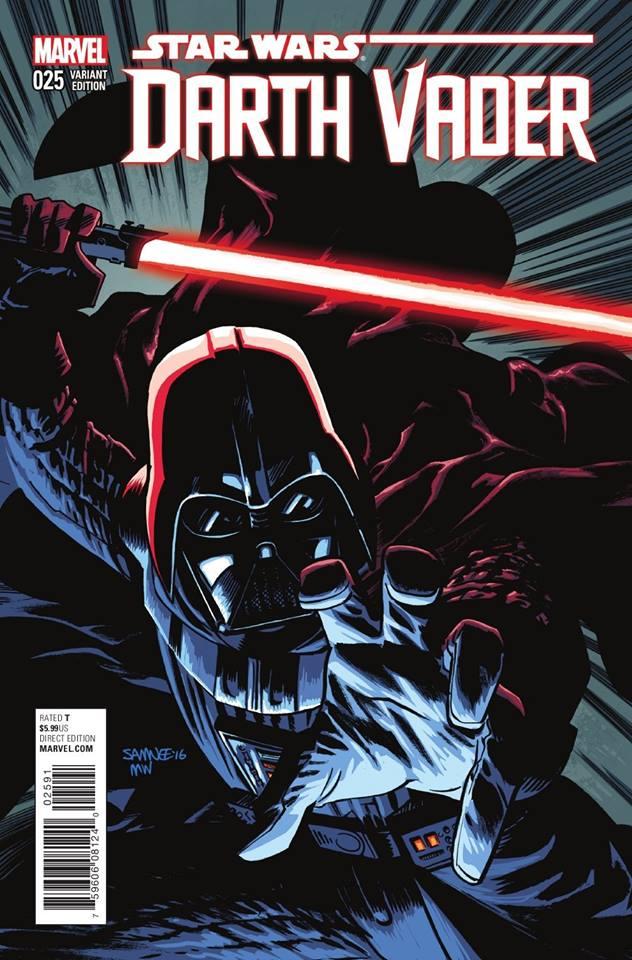 Star Wars Darth Vader 25 - Chris Samnee Variant