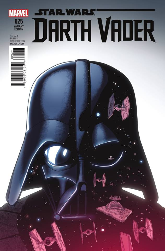 Star Wars Darth Vader 25 - Jamie McKelvie Variant