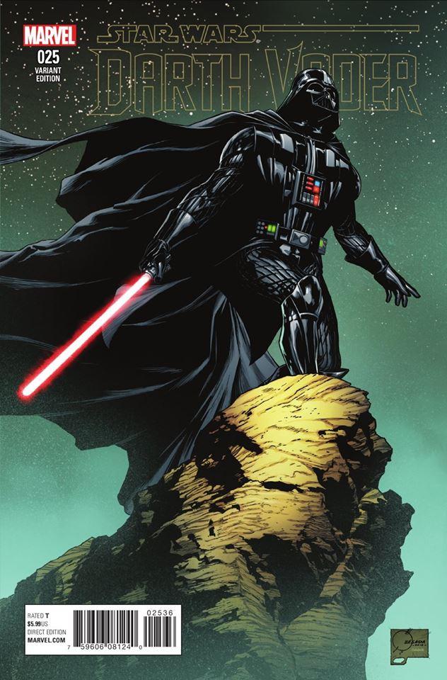 Star Wars Darth Vader 25 - Joe Quesada Variant