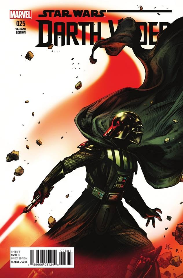 Star Wars Darth Vader 25 - Kamome Shirahama Variant