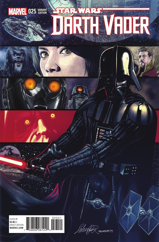 Star Wars Darth Vader 25 - Salvadore Larocca Variant