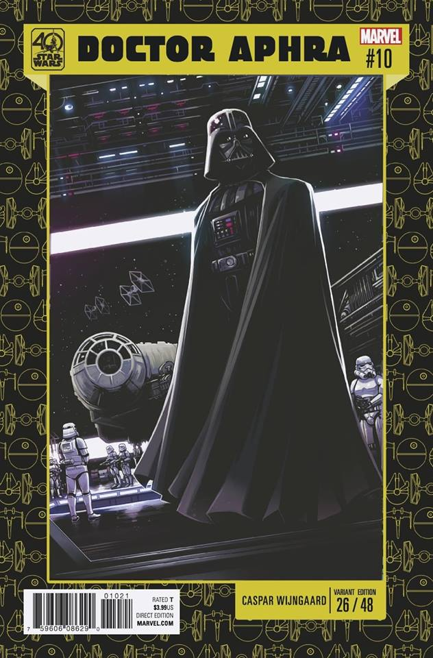 Star Wars: Dr. Aphra 10 - 40th Anniversary Variant (Caspar Wijngaard)