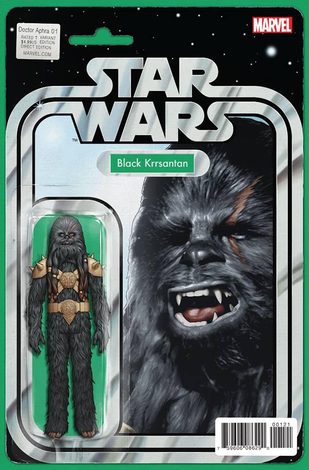 Star Wars: Dr. Aphra 1 - Action Figure Variant (Black Krrsantan)