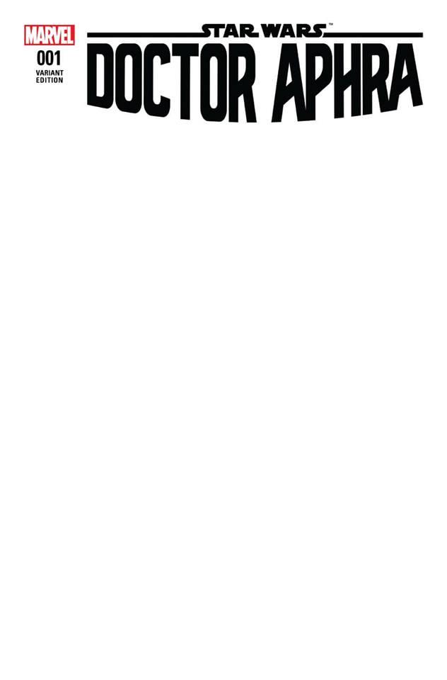 Star Wars: Dr. Aphra 1 - Blank Variant