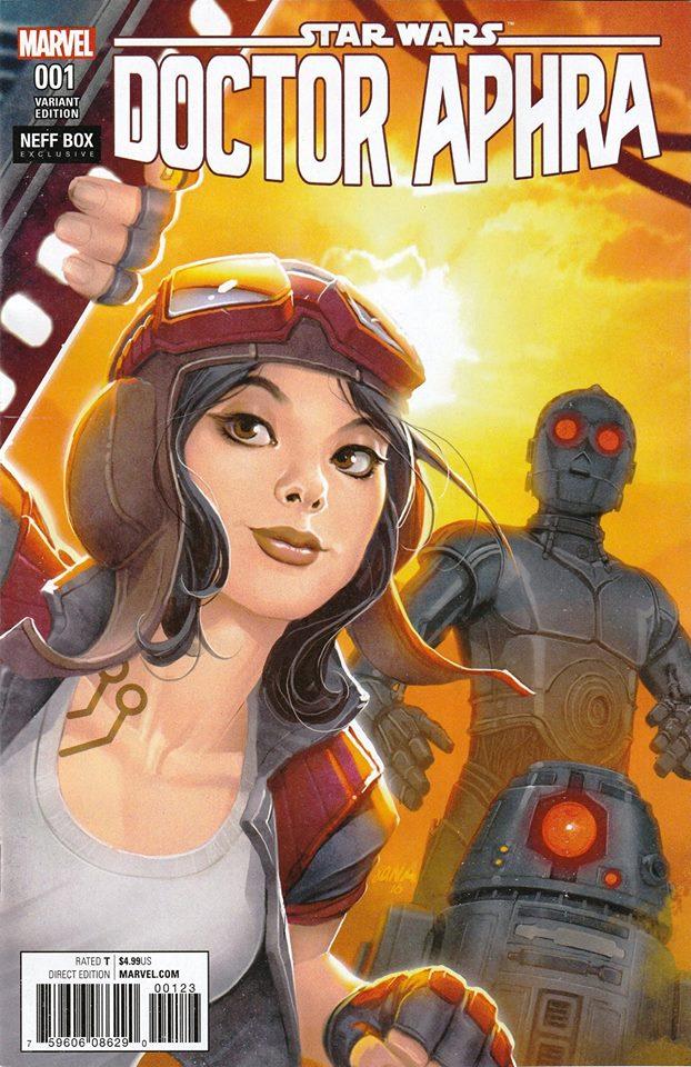 Star Wars: Dr. Aphra 1 - David Nakayama Variant