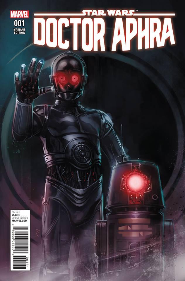 Star Wars: Dr. Aphra 1 - Droids Variant (Rob Reis)