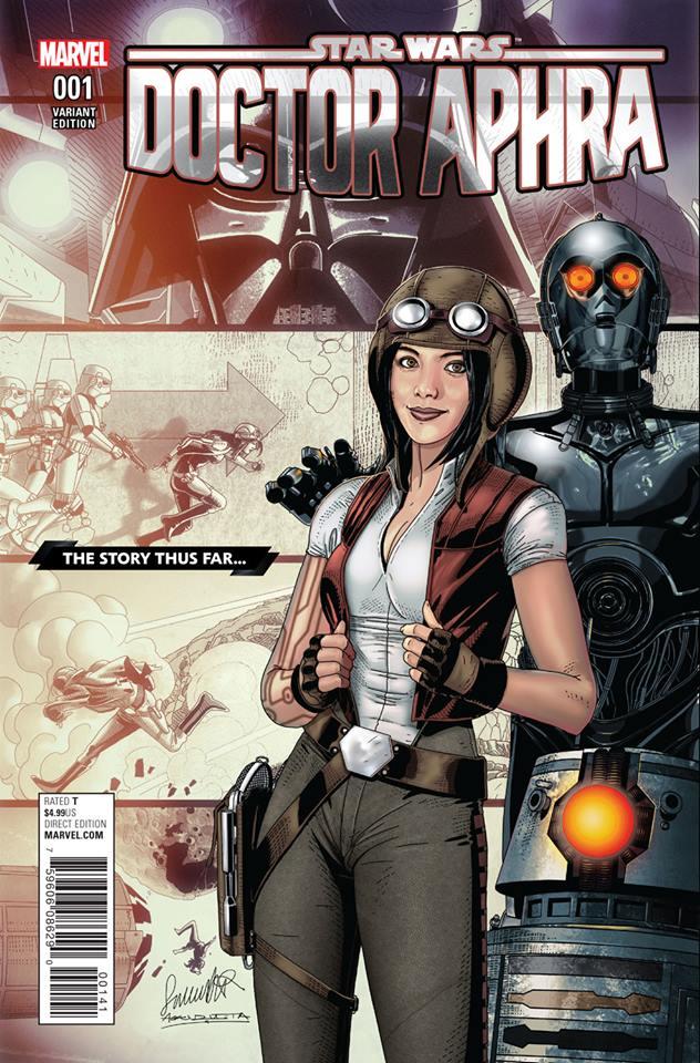 Star Wars: Dr. Aphra 1 - The Story Thus Far Variant (Sal Larroca)