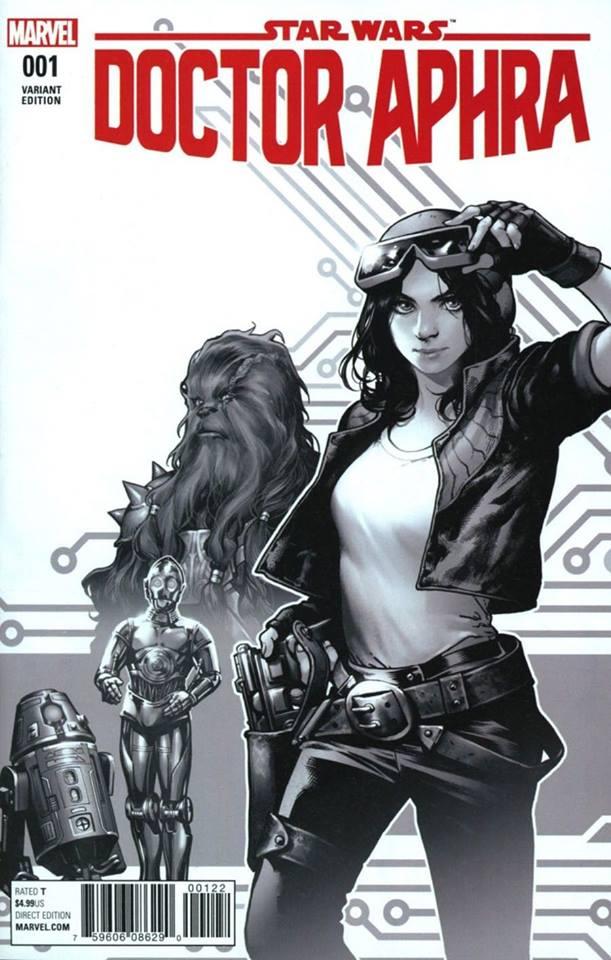 Star Wars: Dr. Aphra 1 - Kamome Shirahama Sketch Variant