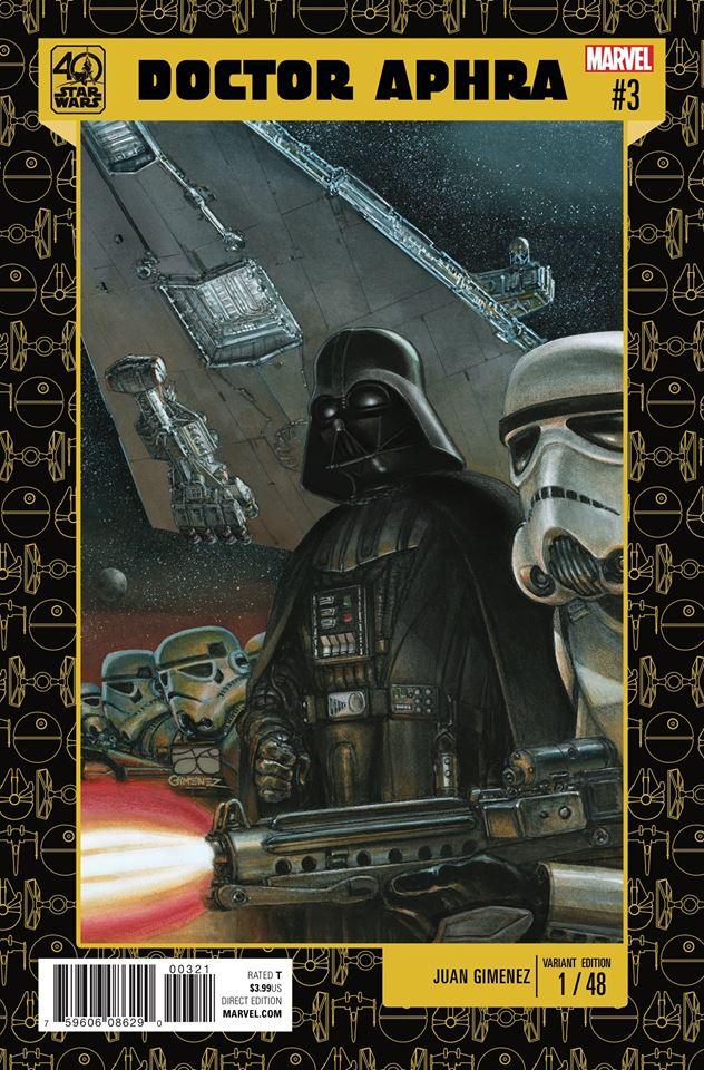 Star Wars: Dr. Aphra 3 - 40th Anniversary Variant (Juan Gimenez)