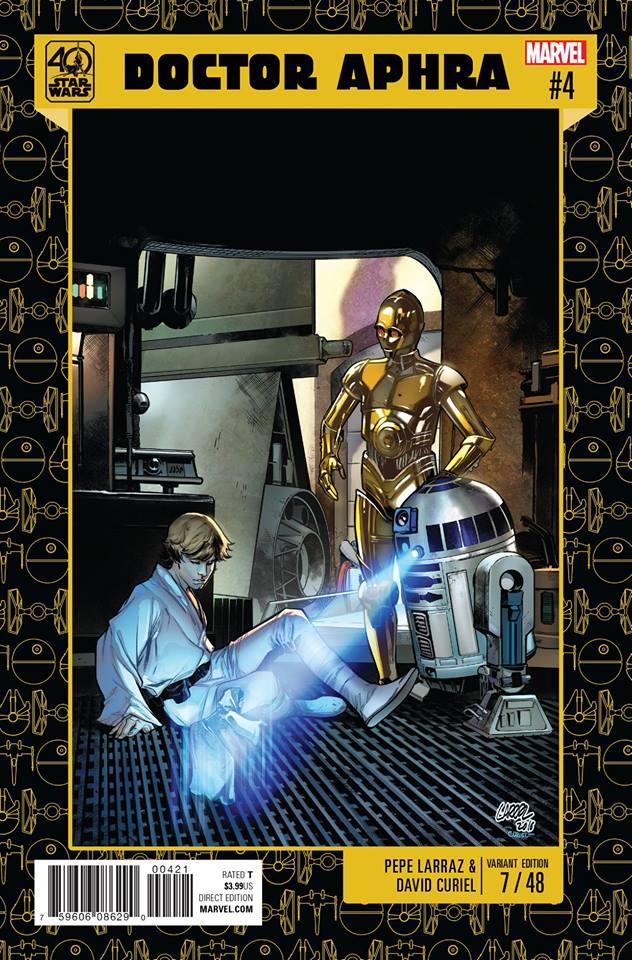 Star Wars: Dr. Aphra 4 -  40th Anniversary Variant (Pepe Larraz)
