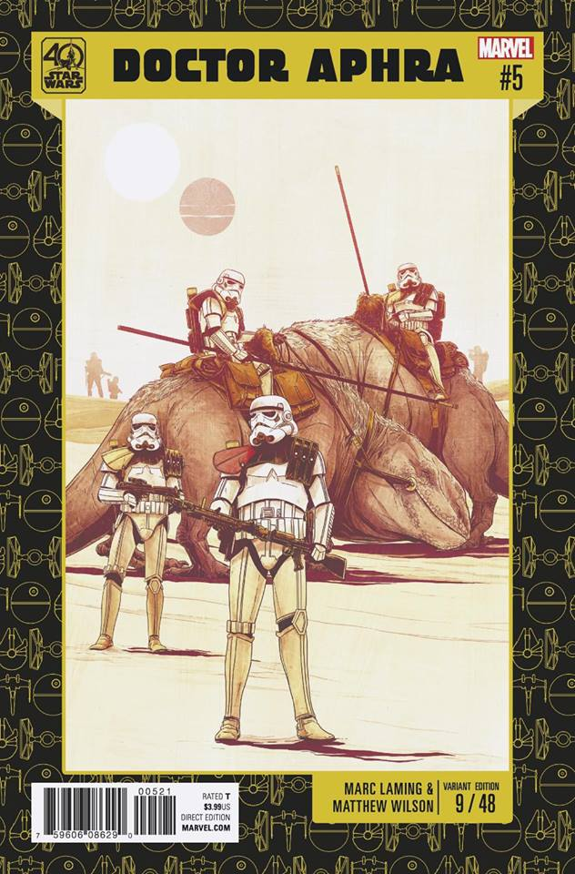 Star Wars: Dr. Aphra 5 - 40th Anniversary Variant (Marc Laming & Matthew Wilson)