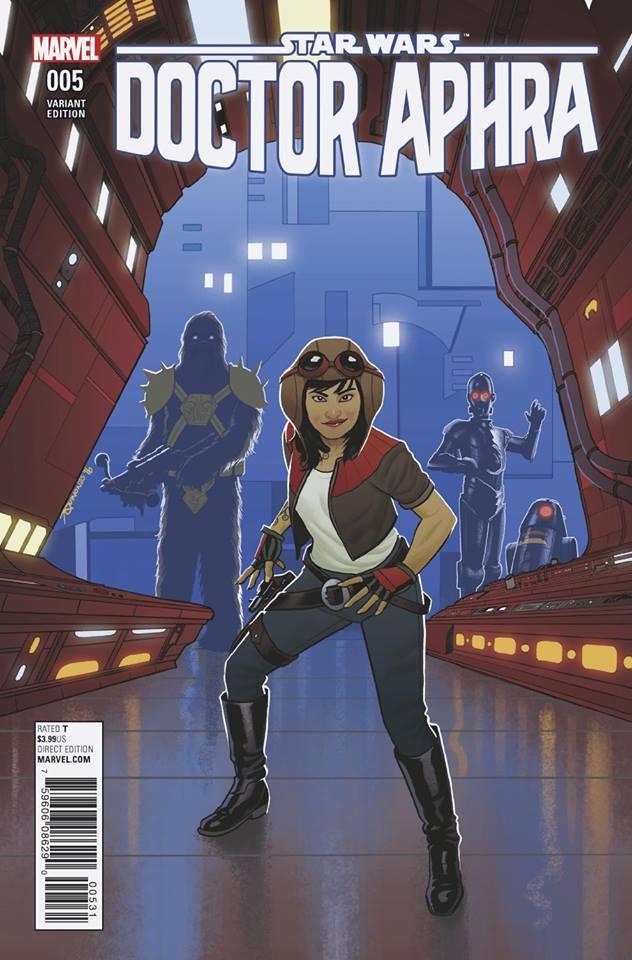 Star Wars: Dr. Aphra 5 - Joe Qunones Variant