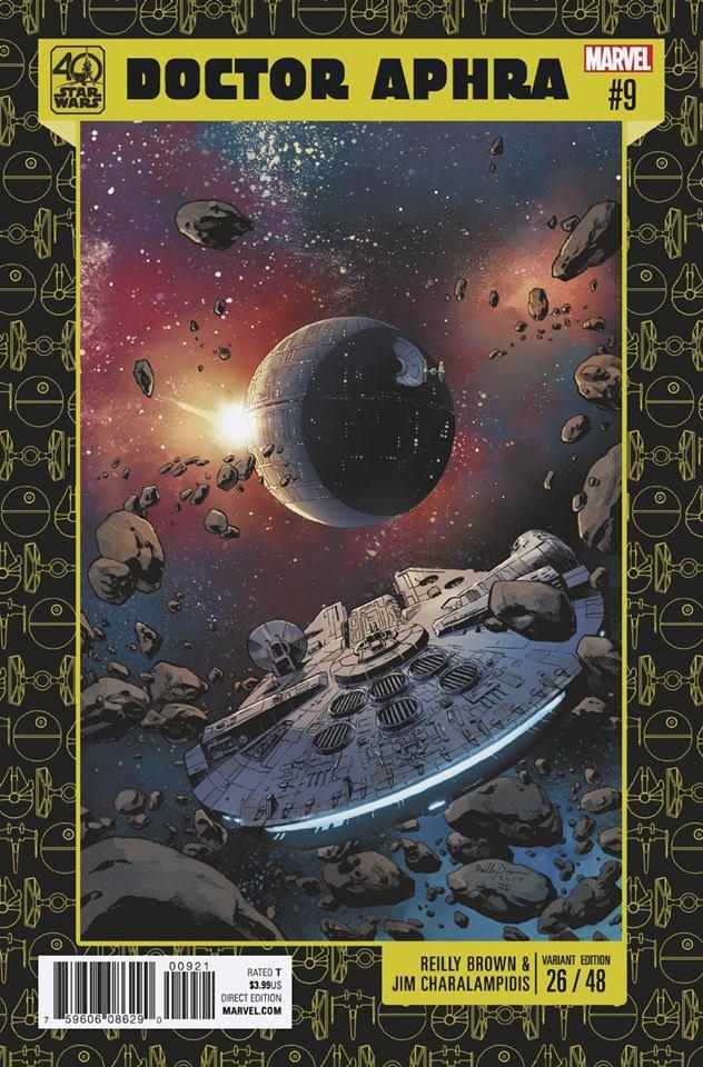 Star Wars: Dr. Aphra 9 - 40th Anniversary Variant (Reilly Brown & Jim Charalampidis)