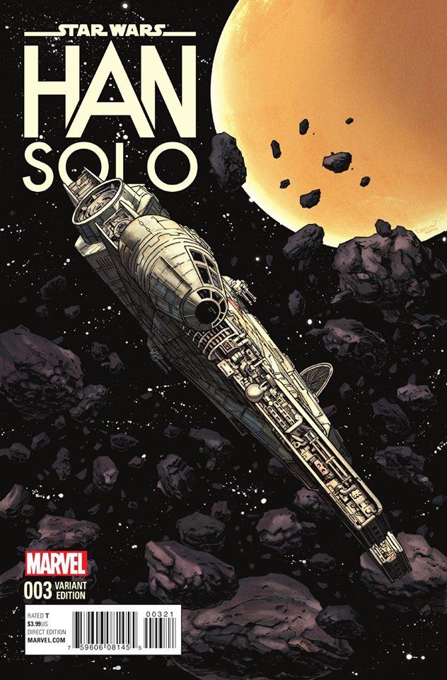 Star Wars Han Solo 3 - Millenium Falcon Variant