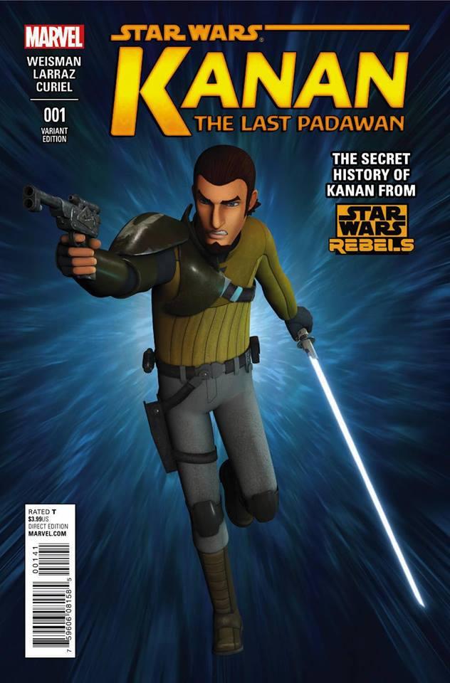 Star Wars Kanan 1 - Movie Variant