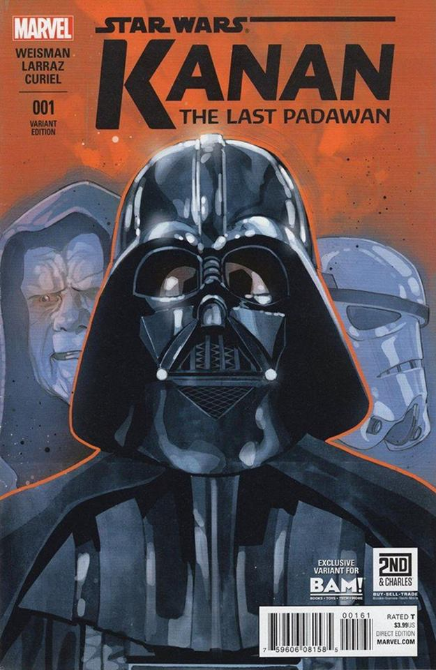 Star Wars Kanan 1 - Books A Million Variant