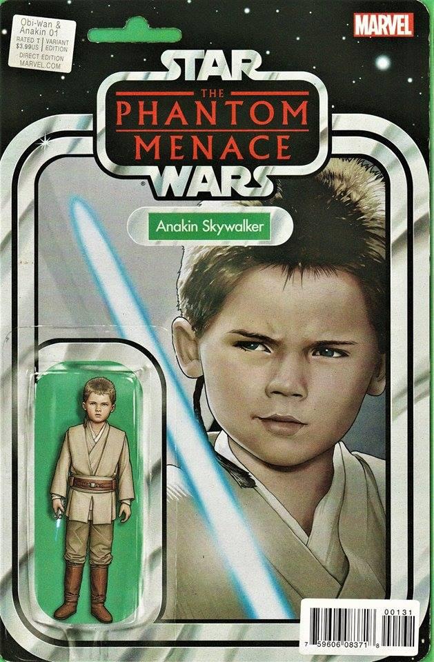 Star Wars Obi-Wan and Anakin 1 - Action Figure Variant - Anakin Skywalker