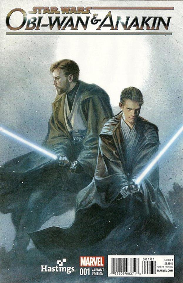 Star Wars Obi-Wan and Anakin 1 - Duo Variant 1