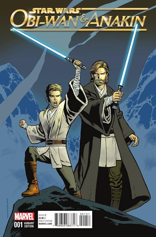 Star Wars Obi-Wan and Anakin 1 - Duo Variant 2