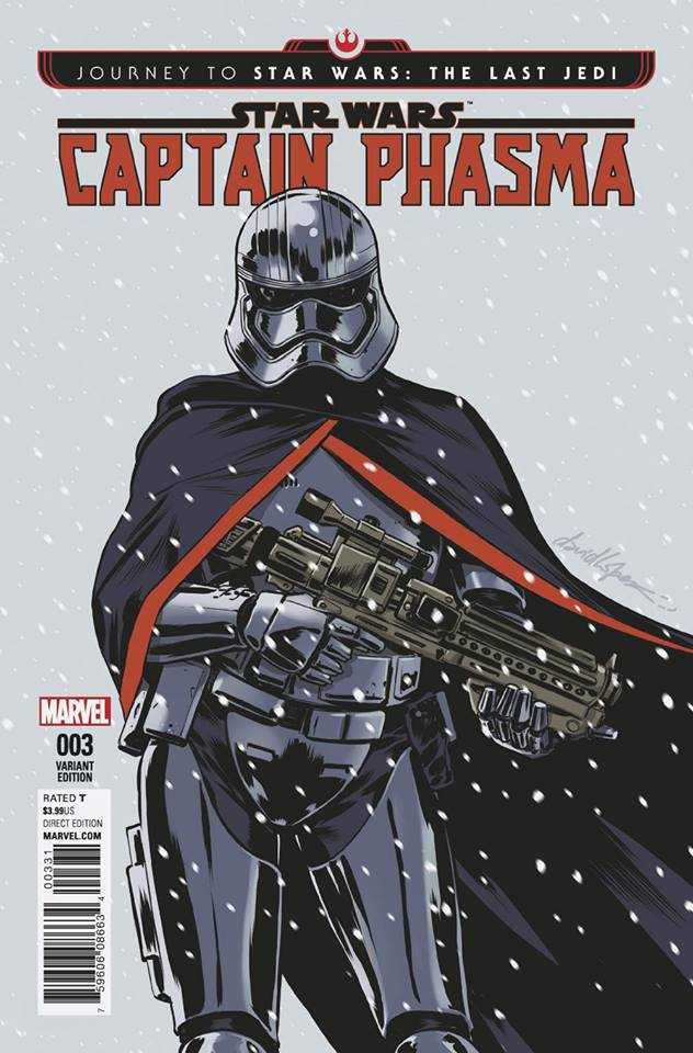 Star Wars: Captain Phasma 3 - David Lopez Variant