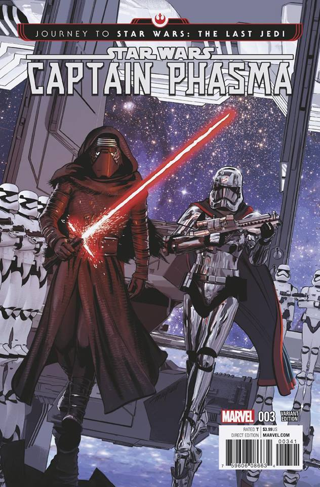 Star Wars: Captain Phasma 3 - Mike Mayhew Variant
