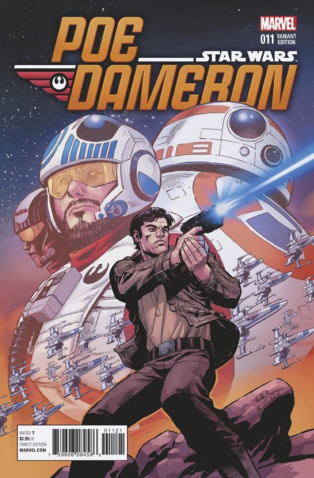 Star Wars Poe Dameron 11 - Reilly Brown Variant