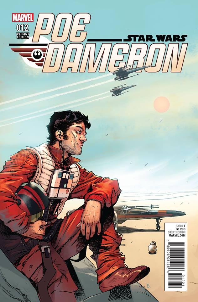 Star Wars Poe Dameron 12 - Bengal Variant