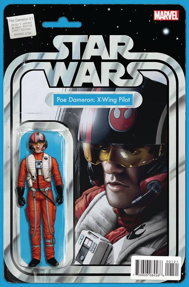 Star Wars Poe Dameron 1 - Action Figure Variant - Poe Dameron